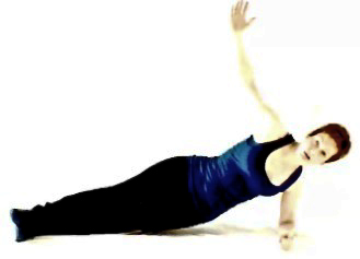 Side plank arm up1