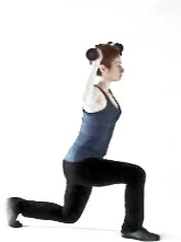 Balance lunge+shoulder press2