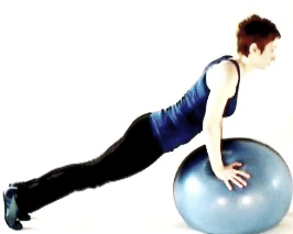 Plank on the ball1
