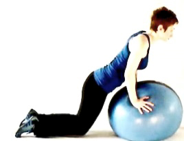 Plank on the ball2